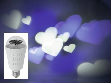 "Omnilux LED effektpære ""Love"""