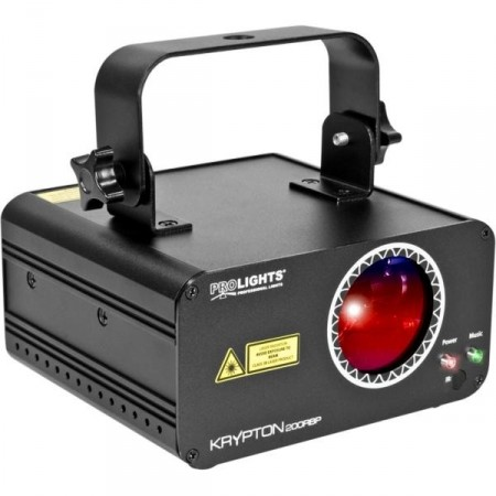 PROLIGHTS Krypton 200 RBP DMX laser